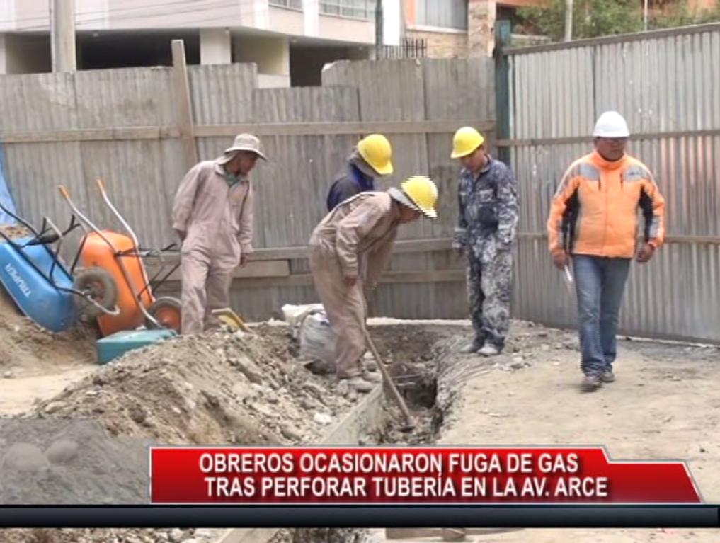Evacúan edificios por fuga de gas en la plaza Isabel La Católica